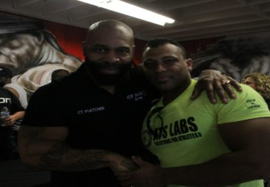 CT Fletcher's Grand Opening for Iron Addicts Gym in Long Beach